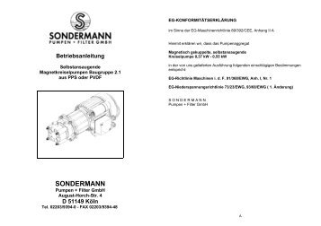 Broschüre - Pumpe BGR 2.1 - Hydrolit