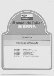 Sistema de Enfriamiento (16,7Mb) - Ford Sierra Net