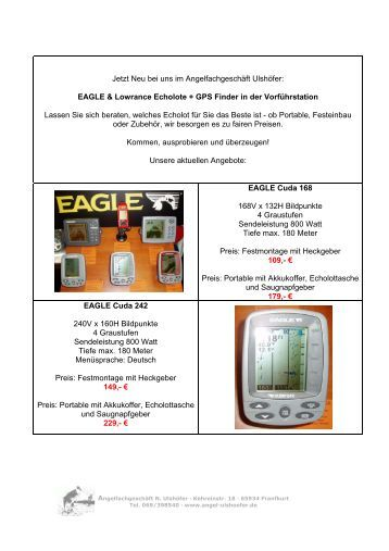 EAGLE Cuda 168 - Angelfachgeschäft N. Ulshöfer