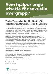 Inbjudan i PDF - våldinärarelationer.se-www.valdinararelationer.se