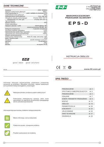 EPS-D instrukcja - F&F