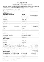 Anmeldung / Nennung 6. Oldenburger CITY Grand Prix am 11. Mai ...