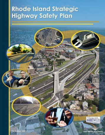 Rhode Island's Strategic Highway Safety Plan
