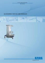 ACCESSORIES FOR ESU AND MODULES - Elmed