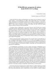 El Bachillerato: propuestas de mejora desde FETE-UGT La Rioja