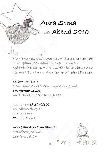 Aura Soma Abend 2010 - Seven49.net GmbH