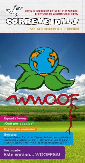 Este verano... WOOFFEA! - Ayuntamiento de Huesca