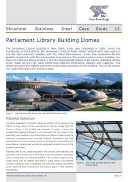 Parliament Library Building Domes - International Stainless Steel ...