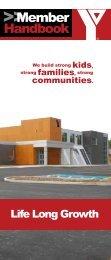 Member Handbook - the YMCA of Northeast Avalon
