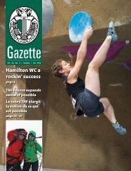 Summer 2013 Gazette - The Alpine Club of Canada