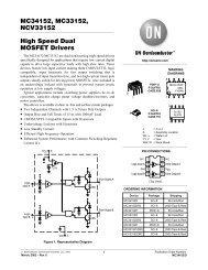 MC34152, MC33152, NCV33152 High Speed Dual MOSFET Drivers