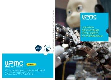 L'Institut des Systèmes Intelligents et de Robotique