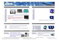 Monitor - WES EBERT SYSTEME ELECTRONIC GmbH
