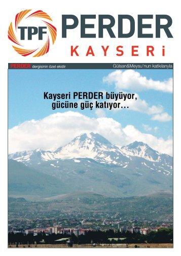 Kayseri PERDER Eki - Türkiye Perakendeciler Federasyonu