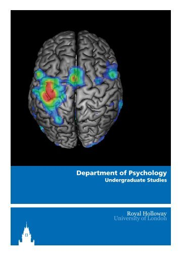 Department of Psychology - Royal Holloway, University of London