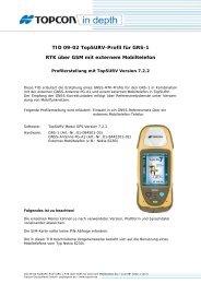 TID 09-02 TopSURV-Profil für GRS-1 RTK über GSM mit externem ...