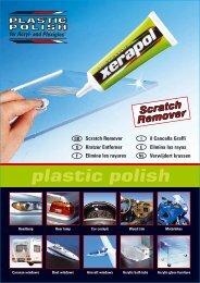 plastic polish plastic polish Kratzer Entferner