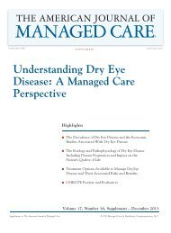 understanding Dry Eye Disease: a Managed ... - Pharmacy Times