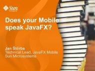 Does your Mobile speak JavaFX? - download