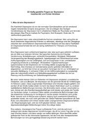 FAQ_22 Fragen zur Depression - Florian Holsboer