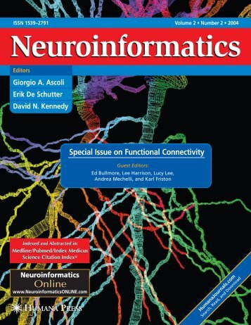 Special Issue on Functional Connectivity - Institute of Development ...