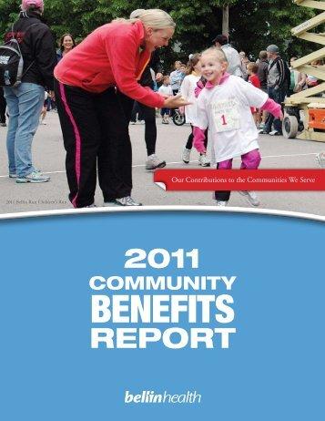 Community Benefits - Bellin Health