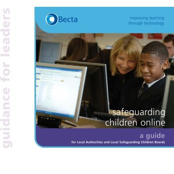 Safeguarding children online a guide - Wise Kids