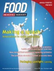 Making a splash - Food Engineering & Ingredients