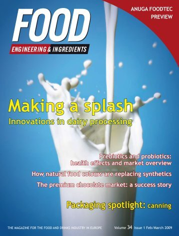 Making a splash - Food Engineering & Ingredients