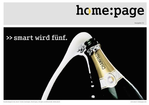 home:page Ausgabe 03 - Smart Center Esslingen