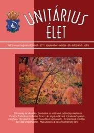 2011 5 - Unitárius tudás-tár