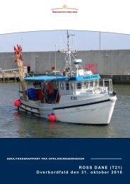 ROSS DANE (T21) Overbordfald den 31. oktober ... - Søfartsstyrelsen