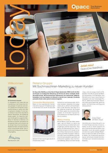 Ausgabe Mai 2012 - Opacc