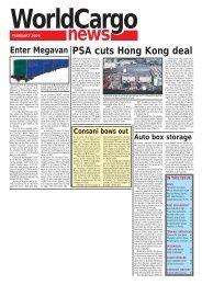 PSA cuts Hong Kong deal Enter Megavan - WorldCargo News Online