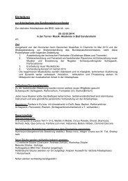 Einladung - BDMV