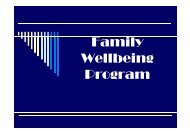 Family Wellbeing Program - Qld Centre for Domestic and Family ...