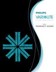 2011 PRODUCT GUIDE - Vari-Lite