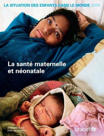 La santé maternelle et néonatale