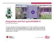 Fotogrammetri med TS15 og ELCOVISION 10 - Leica Geosystems