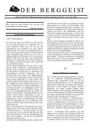 ISSN 1434-7989 - Mitteilungsblatt der Sektion Karpaten des DAV ...