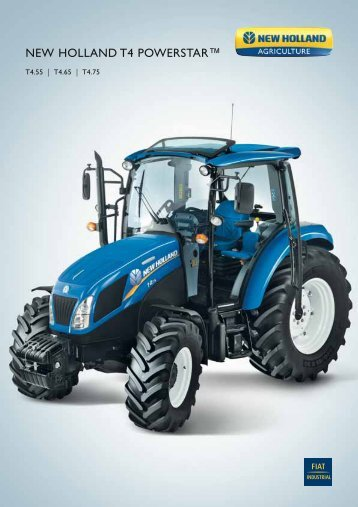 NEW HOLLAND T4 POWERSTAR™