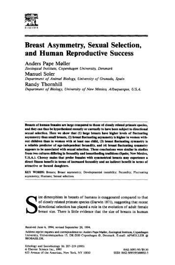 Sexual selection in human evolution