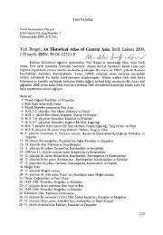 Yuri Bregel, An Historical Atlas of Central Asia, Brill, Leiden 2003,