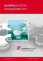 Qualität - Quality Austria