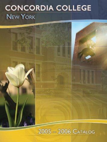 Associate Degree Programs - Concordia College - Logon
