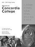 Associate Degree Programs - Concordia College - Logon - Page 3