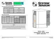 model 6200r conventional optical beam smoke detector
