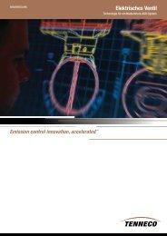 Elektrisches Ventil - Tenneco Inc.