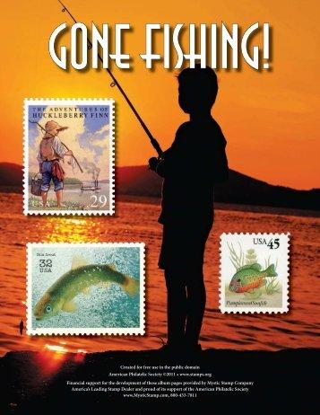 Gone Fishing - American Philatelic Society