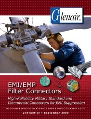 EMI/EMP Filter Connectors - Pan Pacific Electronics